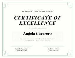 student certificate templates canva