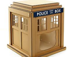 Tardis Bookcase For Sale Cardboard Cat Furniture For People And Pets By Cacaopets On Etsy