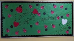 Valentine S Day Classroom Decoration by Lovely Ladybugs U0027spotted U0027 In Kindergarten
