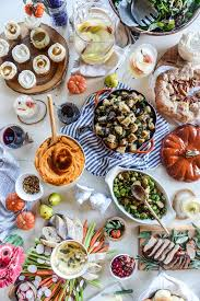 traditional thanksgiving menu with a twist crate and barrel
