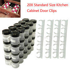 Cabinet Door Clips Spice Cabinet Door Clips Ebay