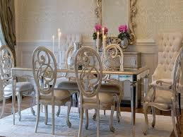 Mirrored Dining Room Table by Mirror Dining Table Set