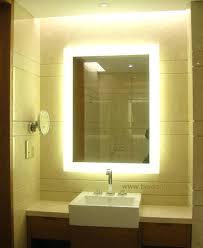 Bathroom Mirrors With Shaver Socket Backlit Bathroom Mirror Mirror Design
