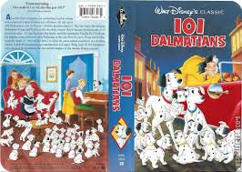 101 dalmatians vhscollector analog videotape archive