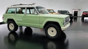 new jeep wagoneer concept 2018 moab easter jeep safari concepts revealed restomod wagoneer