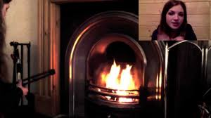 how to light a traditional log fire in a fireplace youtube