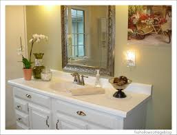 Ideas For A Bathroom Makeover A Super Budget Bathroom Makeover Fox Hollow Cottage