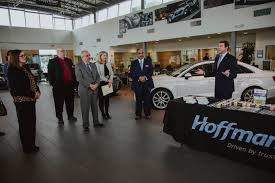 lexus of watertown hoffman auto group receives award from lincoln tech drivenct