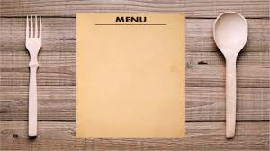restaurant menu sample pdf youtube
