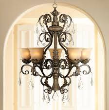 Jefferson 9 Light Chandelier Traditional - kathy ireland ramas de luces bronze 31