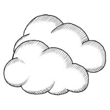 clouds icon sketchy weather icons softicons com