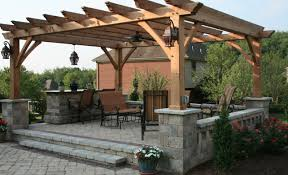 patio u0026 pergola apartments stunning backyard design with wooden