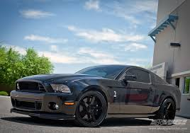 2012 Black Ford Mustang 2012 Ford Mustang With 20