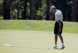 obama back on the golf course as vineyard vacation enters second week