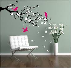 White Tree Wall Decal For Nursery by Tree Wall Painting Diy Room Decor For Teens Bedroom Ideas Cute