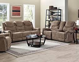 brown microfiber sofa set glen haven reclining sofa u0026 loveseat