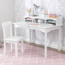 White Desk With Hutch by Avalon Desk With Hutch White
