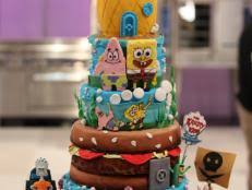 spongebob cake wars food network