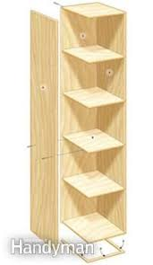 Building Wood Shelf Garage by 33 Best Workshop Storage Towers Images On Pinterest Workshop