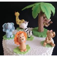 lion birthday decorations jungle safari cake toppers lion baby