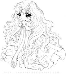 princess emeraude chibi by yampuff on deviantart coloring pages