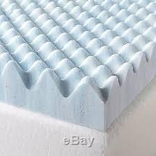 3 swirl gel memory foam air flow topper medical egg crate