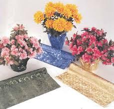 floral foil wrap poly embossed foil guardsman brand pattern hshire