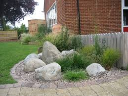 innovative garden rock features 17 best images about front yard