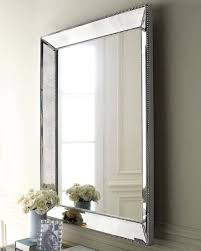 the best frameless large wall mirrors