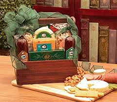 sausage gift baskets premium meat and cheese gift manly mans sausage
