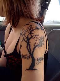dead tree arm tattoomagz