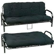 metal frame sofa bed sofa bed black metal frame home furniture on carousell