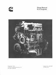 34823842 engine cummins motor diesel n14 turbocharger fuel