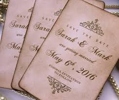 vintage save the date save the dates wedding save the dates luxury save the date gold