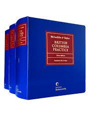 british columbia practice 3rd edition lexisnexis canada store