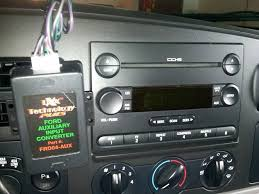 2007 ford focus radio aux button on radio ford truck enthusiasts forums