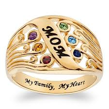 family birthstone rings family birthstone ring 7586094 hsn
