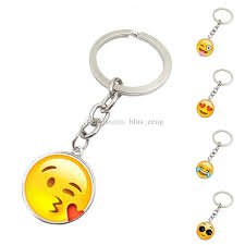 key rings designs images 12 designs funny emoji smile metal keyring rhodium plated split jpg