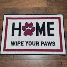 Coir Doormat Wipe Your Paws Home Wipe Your Paws Welcome Mat Floormatshop Com Commercial