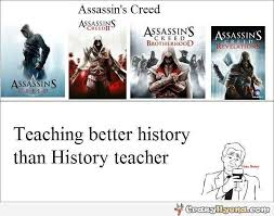 Assassins Creed Memes - meme with assassin s creed
