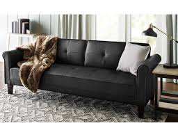 futon awesome leather futon awesome leather futon bed leather