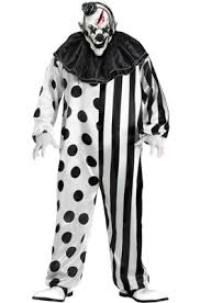 Scary Clown Halloween Costumes Adults Killer Clown Costume Costumes Halloween Costumes