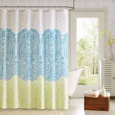 Shower Curtain At Walmart - 90 degrees by design lab lacy printed shower curtain and hook set