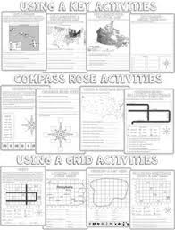 latitude and longitude map geography printable 3rd 8th grade