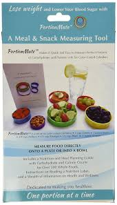 amazon com portionmate meal portion control rings and nutrition