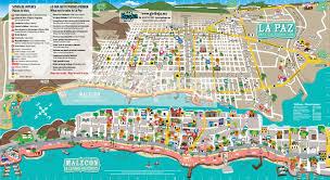 Baja Map Loreto To La Paz Expedition Sea Kayak Adventures