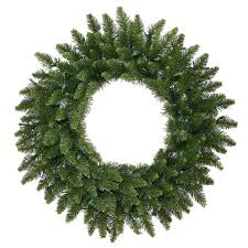 unlit 30 inch green wreath