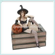 halloween figurine halloween resin witch figurine shelf sitter statue buy