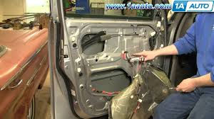 how to install replace power window motor toyota sequoia 01 04