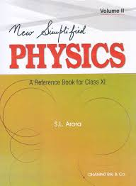 buy new simlified physics a reference book for class 11 volume
